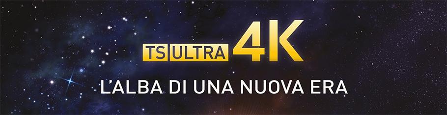 TS ULTRA 4K: l'alba di una nuova era. Decoder UHD