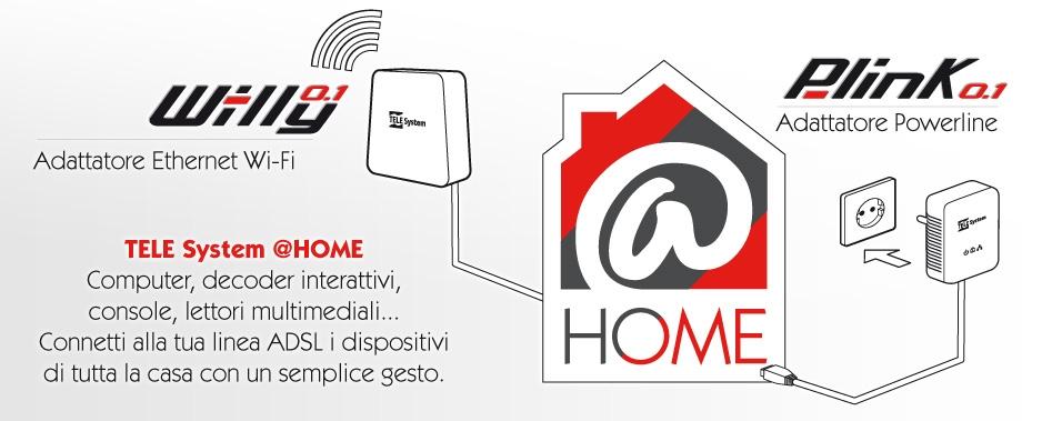 @Home: connetti i tuoi dispositivi