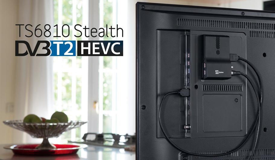 TS6810 T2 Stealth DVB-T2 HEVC