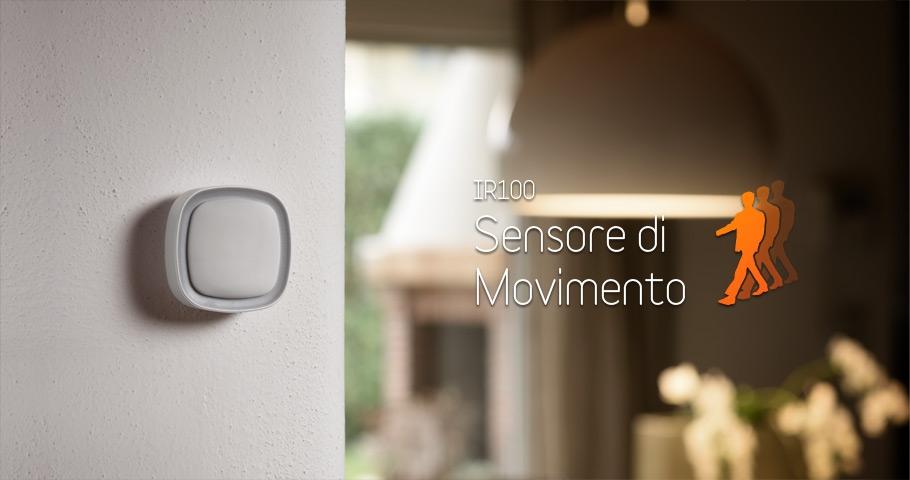 Sensore domotico di movimento IOT IR100