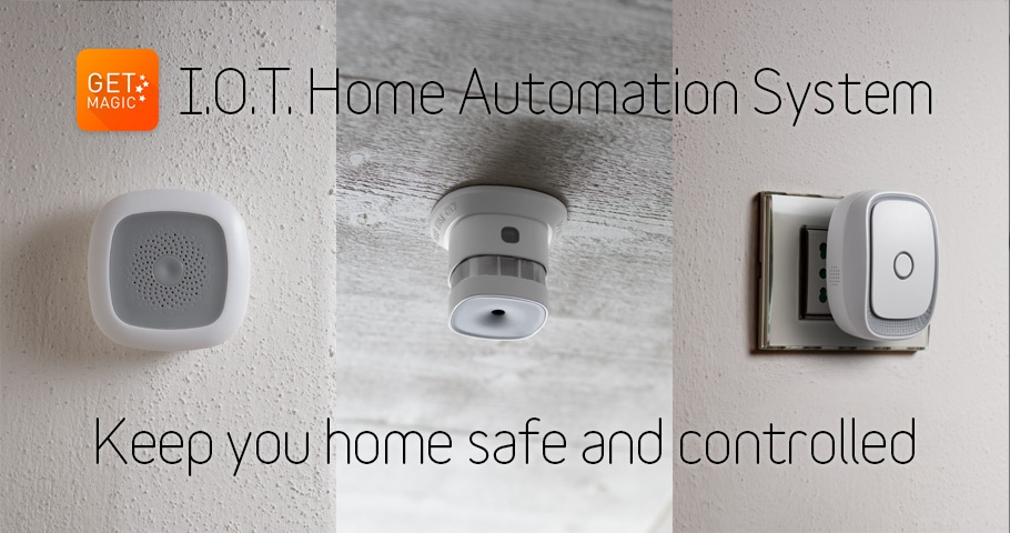 Get Magic: IOT home automation system