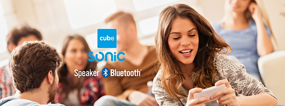 SONIC cube: cassa bluetooth
