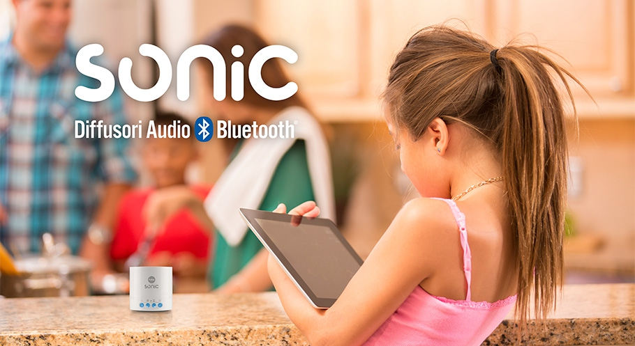 SONIC: speaker / diffusori audio bluetooth
