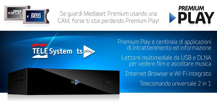 Stai perdendo Premium Play? Scopri tsPlay!