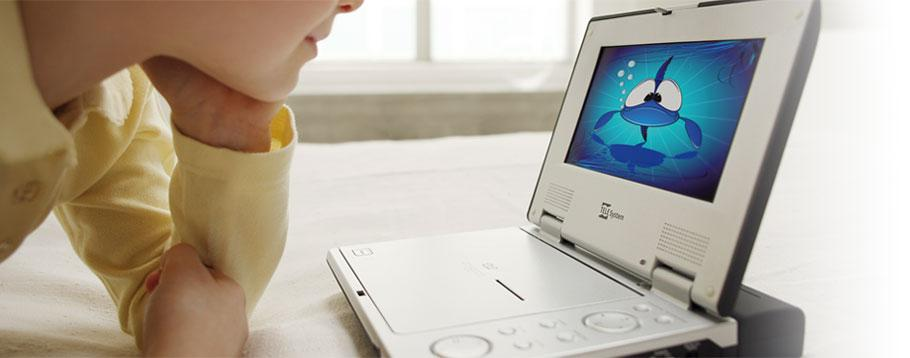 DVD player portatili