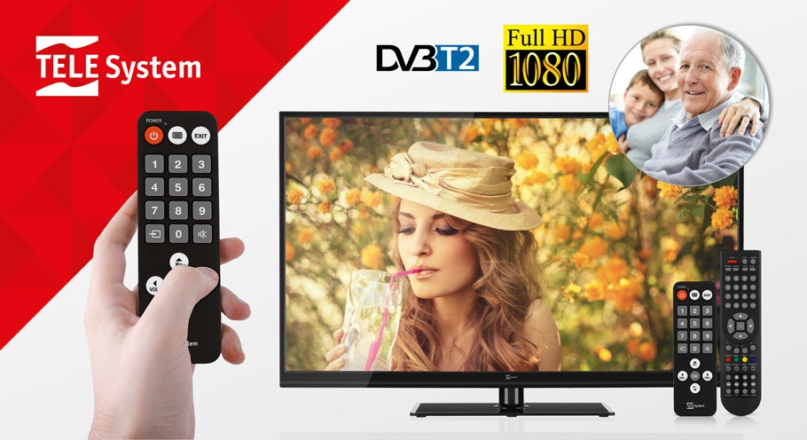 TV DVB-T2 Full HD Palco LED06