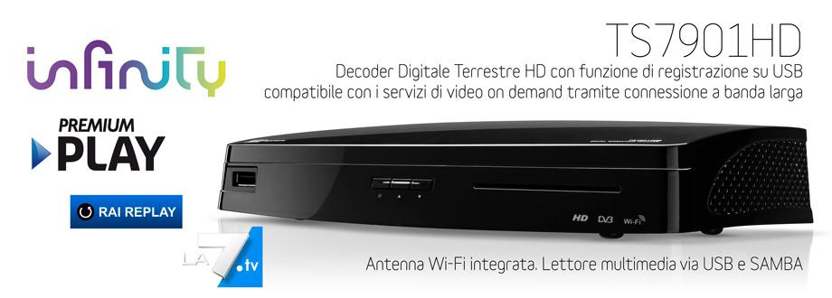 Il digitale per tutti tele system digital srl for Premium on demand